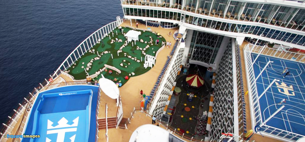 Oasis Of The Seas Deck