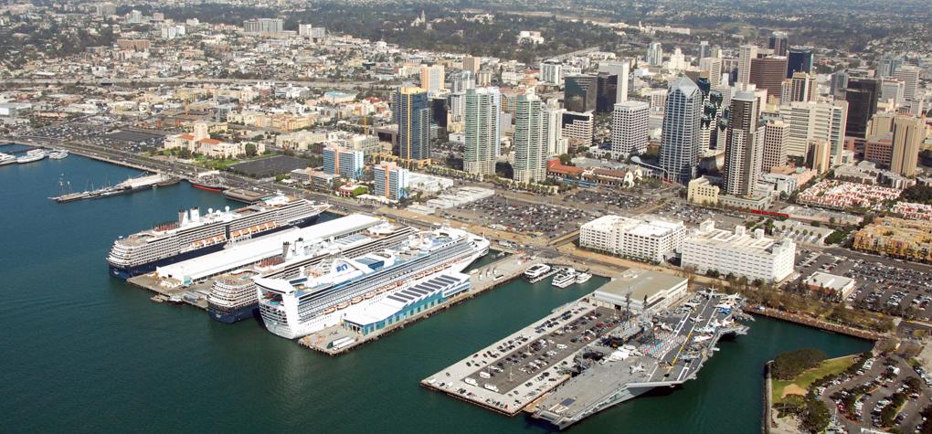 San Diego B Street Cruise Ship Terminal