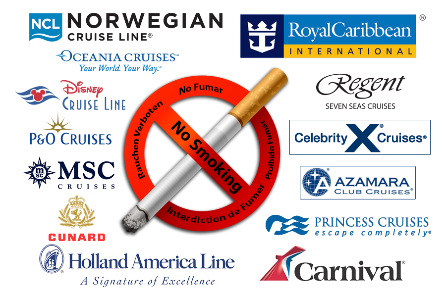Cruise Lines No Smoking Policies Continue To Grow SailFace - Smoking policy on cruise ships